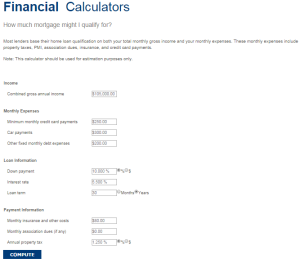 How much mortgage might I qualify for? - Calculator