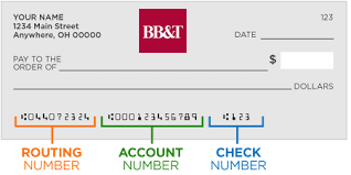 Bbt routing number and wiring instructions online banking bbt check ccuart Choice Image