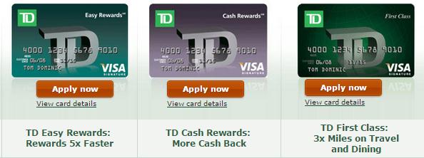 td-credit-cards