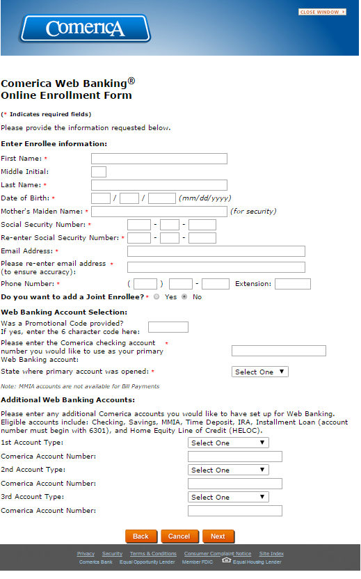 Comerica Wiring Instructions : Comerica online banking login