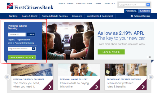 first citizens bank online banking login online bank directory2 enter your customer id and click on \u201clog in\u201d then you\u0027ll be required to enter your password after that you\u0027ll be logged in and will be able to use all