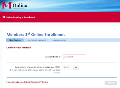 Affinity Plus Credit Union >> Members 1st Federal Credit Union Online Banking Login ...